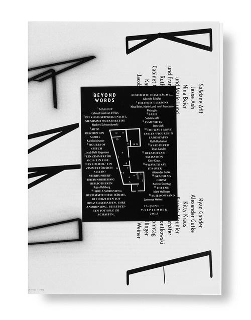 Beyond WordsExhibition Publication #cover #poster