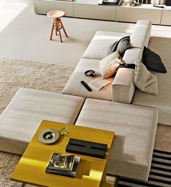 Freestyle- Sectional Modular Sofa by Ferruccio Laviani