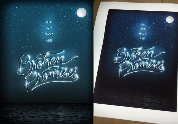 Jillian Adel #lettering #print #lyrics #illustration #poster #music #type