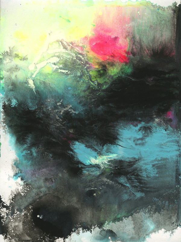 The Whole Landscape Will Be Eternity Michael Cina Art #abstract #painting #art #cina