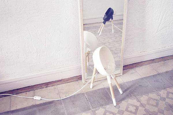 Beabop Lamp - Sergio Guijarro | Ceramic, brass and wood. #lamp #beabop #sergio #ceramics #design #wood #bebop #brass #art #guijarro #light