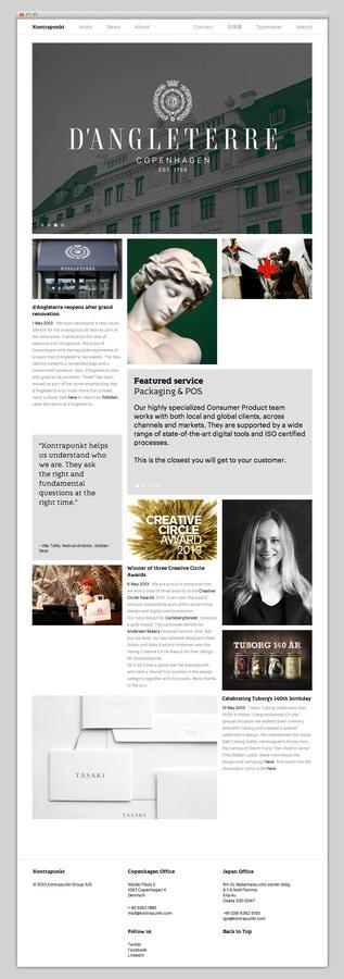 Kontrapunkt #website #layout #design #web