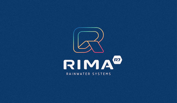 RIMA - RAINWATER SYSTEMS #logotype #monoline #trend #branding