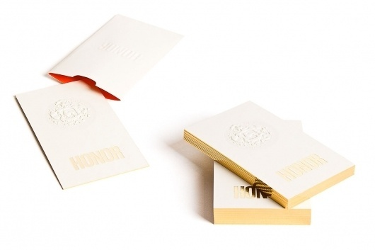 Honor | RoAndCo Studio #identity