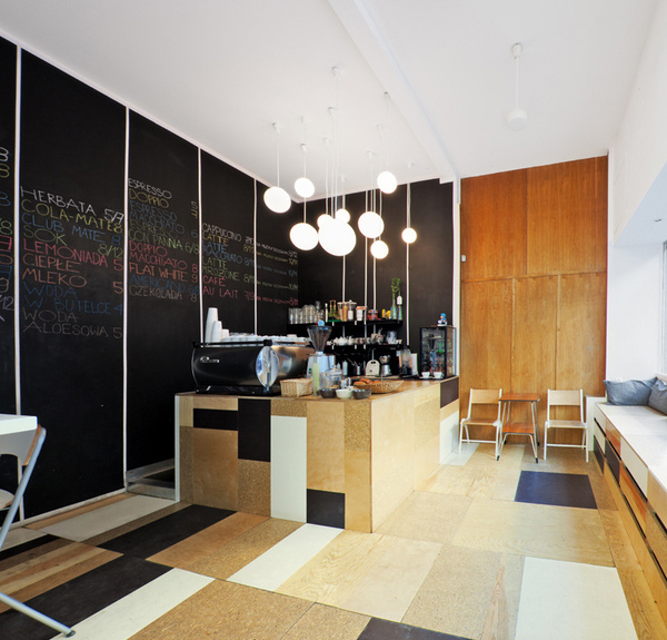 relaks cafe and bike repair shop by super super + moko architects #scrap #material