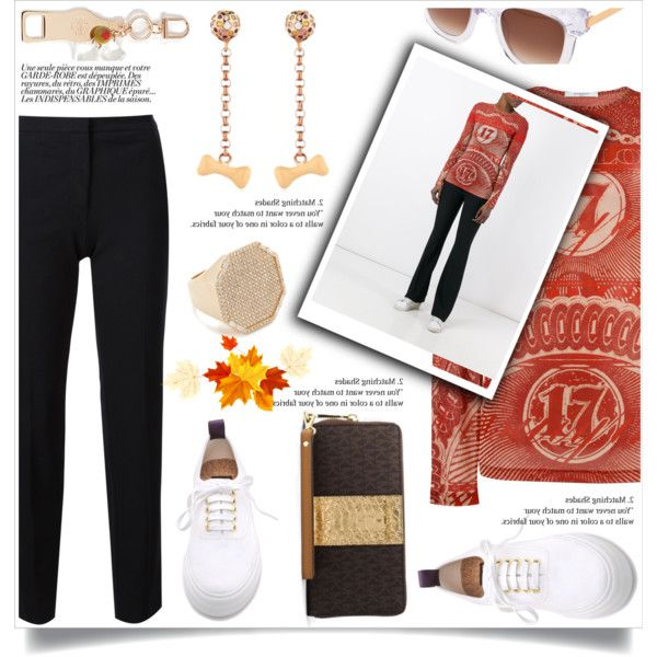 A fashion look from March 2018 featuring white top, red top and Derek Lam. Browse and shop related looks.