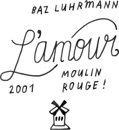 L'amour #moulinrouge #bazluhrmann #love #valentine