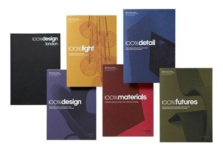 New Work: 100% Design | New at Pentagram | Pentagram #100 #design #sub #brands #brochures #pentagram