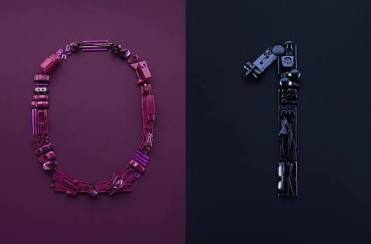Alexander Crispin Photography | Trendland: Fashion Blog & Trend Magazine #monochrome #numbers #objects #organised