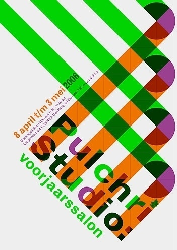 Pulchri Studio - Erik de Vlaam - Studio Dumbar #design #graphic #poster
