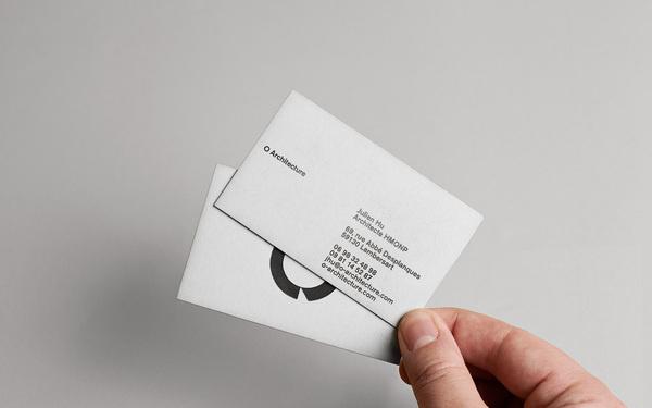 O Architecture #edge #card #color #business