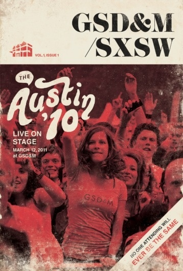 All sizes | SXSW poster concept | Flickr - Photo Sharing! #type #poster
