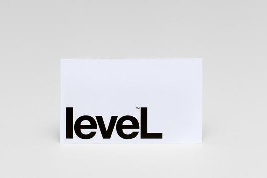 Level Improvements — Studio Hi Ho #card #print #identity #business