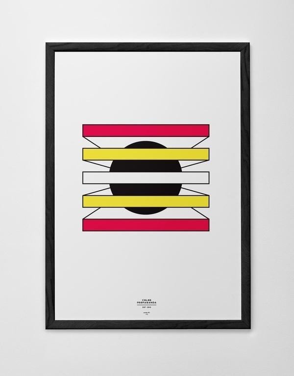 Color Propaganda Poster Marco Oggian #logo #poster