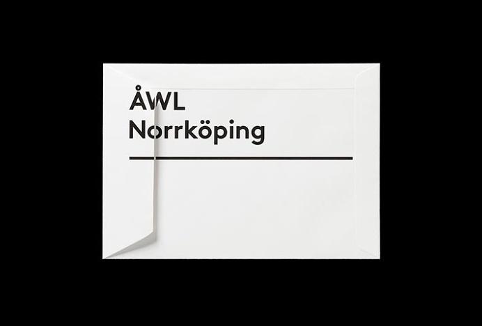 Ã…WL Arkitekter by Henrik Nygren #stationary #brand design #branding #envelope