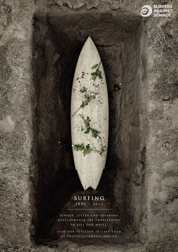sas protect our waves surfboard coffin #surf #photo #poster