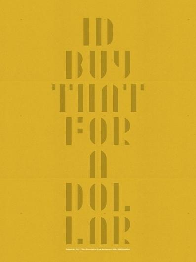 Robocop Poster B. | Flickr - Fotosharing! #design #graphic #poster #typography