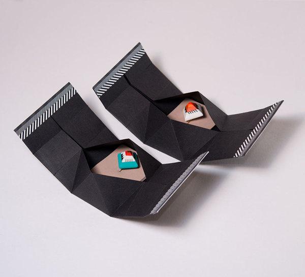 30 Geometric Boobs Pins #pattern #packaging #shapes #geometric #object #3d