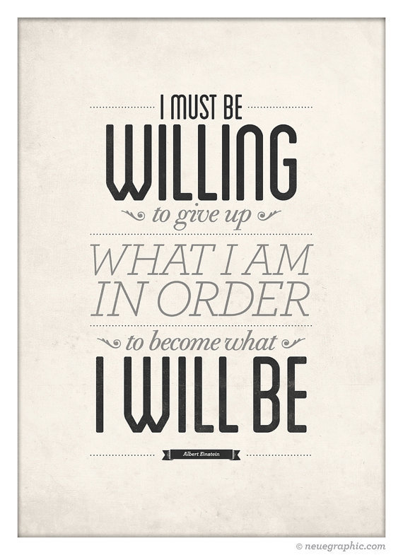 Albert Einstein Inspirational Quote poster by NeueGraphic