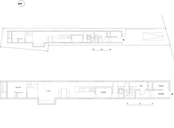 FORM: Promenade House #form #plan #house #architecture #japan