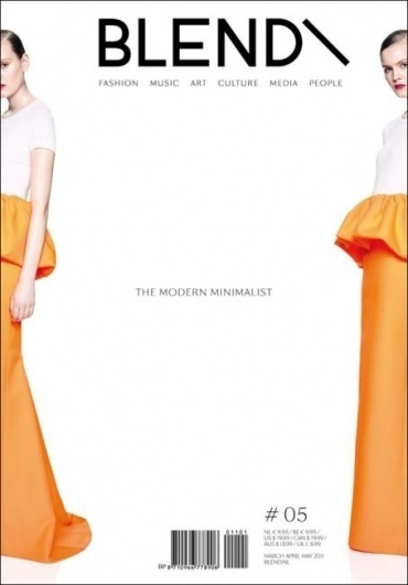 Minimalistic Blend - Coverjunkie.com #cover #minimal #magazine