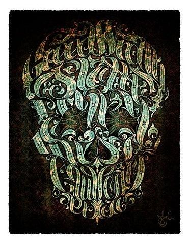 FFFFOUND! | OMG Posters! #skull #design #poster #typography