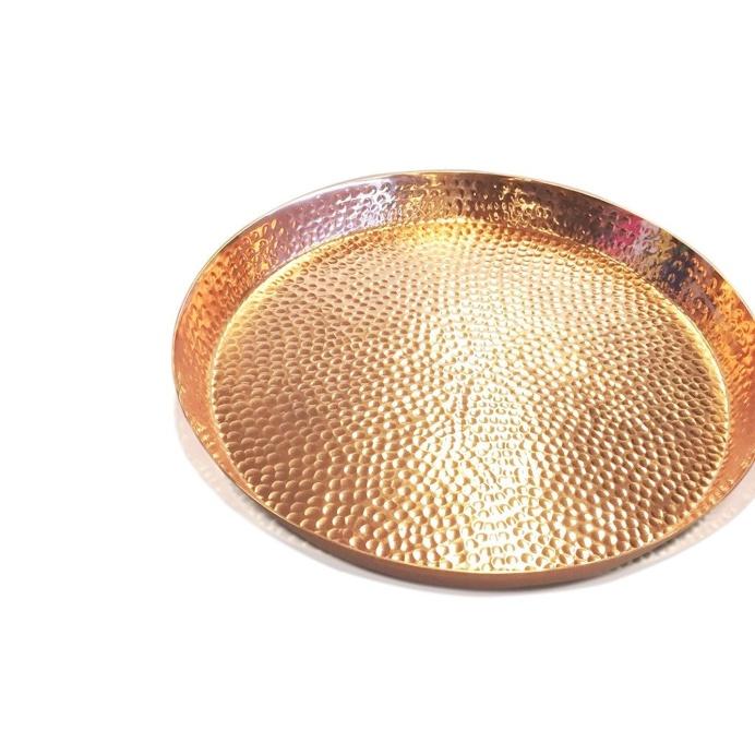 Copper Grande Event Bubbled Tray 47cm