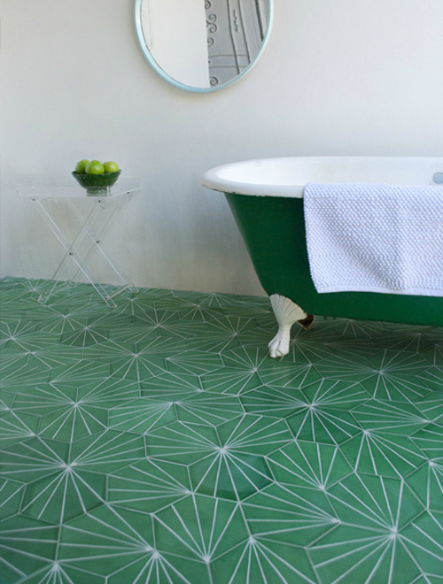 Claesson Koivisto Rune tiles. | Pattern on Pattern #tiles #bath #pattern #bathroom