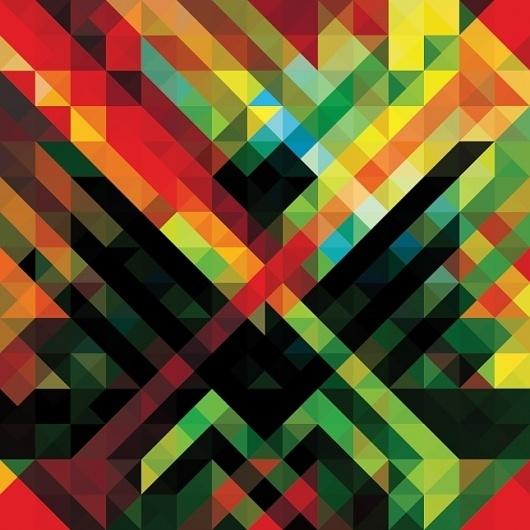 Andy Gilmore Geometric Pattern #gilmore #andy #pattern #africa #geometric #hitech #warp