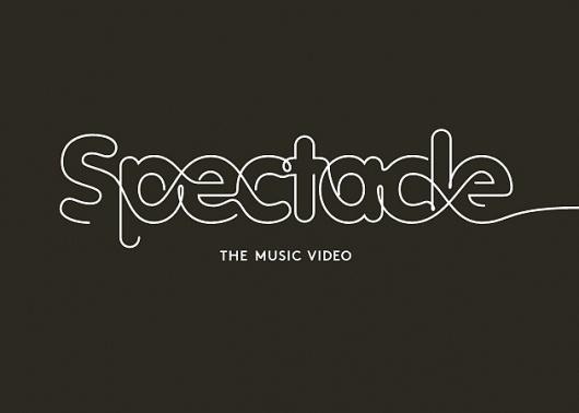 Corey Holms - Spectacle #logo #identity #typography