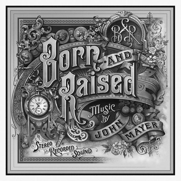 John-Mayer-final-300gray-hue.jpg (1000×999) #album #design #illustration #drawn #etching #hand #typography