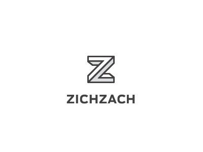 Dribbble - ZICHZACH Logo by Jord Riekwel #mark #icon #brand #identity #logo