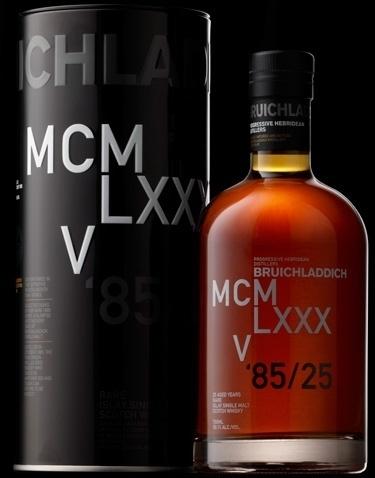 BRUICHLADDICH: Dna 3 1985 Whisky - Vintage Single Malt Scotch #typography #swiss #whisky #itc