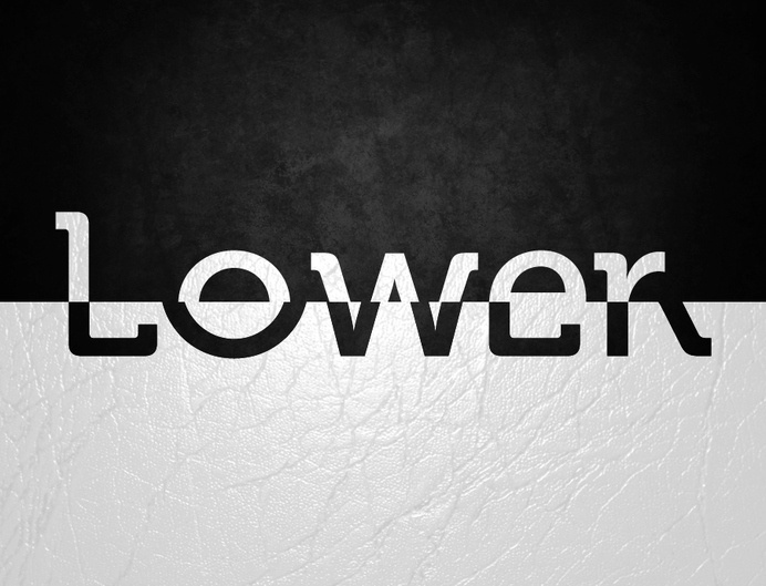 Uppercase & Lowercase #font #experimental #art #typo #typography