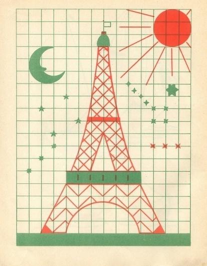 tumblr_l93muoHYW61qzw9h4o1_500.jpg (Immagine JPEG, 499x640 pixel) #grid #illustration #paris