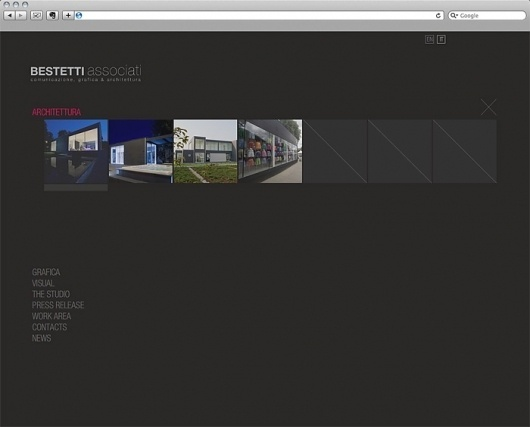 Arsen Benda #modern #site #minimal #gray #web