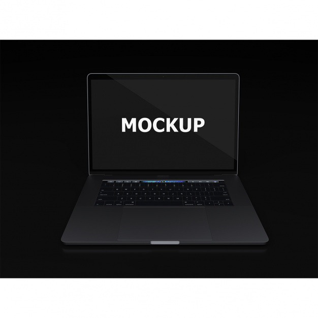 Black laptop mockup frontal view Free Psd. See more inspiration related to Mockup, Technology, Computer, Mobile, Laptop, Black, Work, Web, Digital, Mock up, Modern, Tech, Open, Keyboard, Electronic, Macbook, View, Up, Equipment, Mock, Portable and Frontal on Freepik.