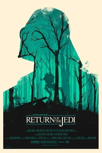 Olly-Moss-Return-of-Jedi.jpg (660×991) #olly #moss #wars #star