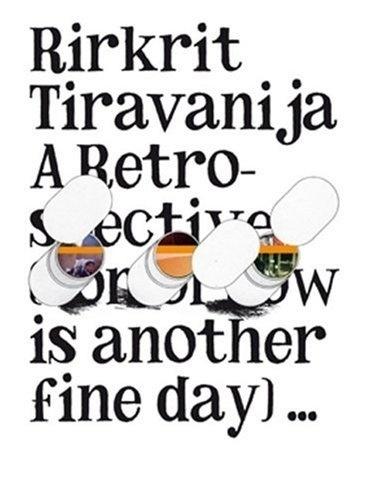 Google Image Result for http://bookcoverarchive.com/images/books/rirkrit_tiravanija.large.jpg #poster #type #art