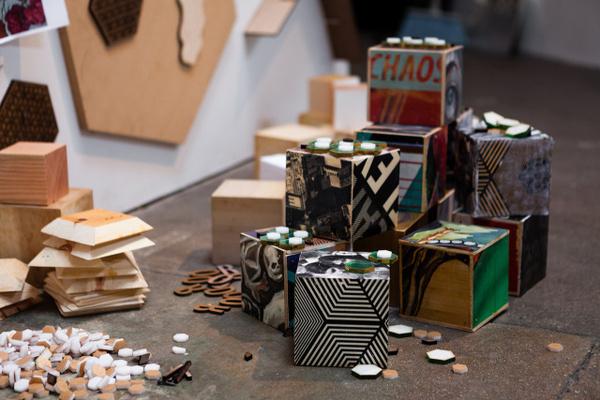 cyrcle organized chaos exhibition recap 7 #cubes