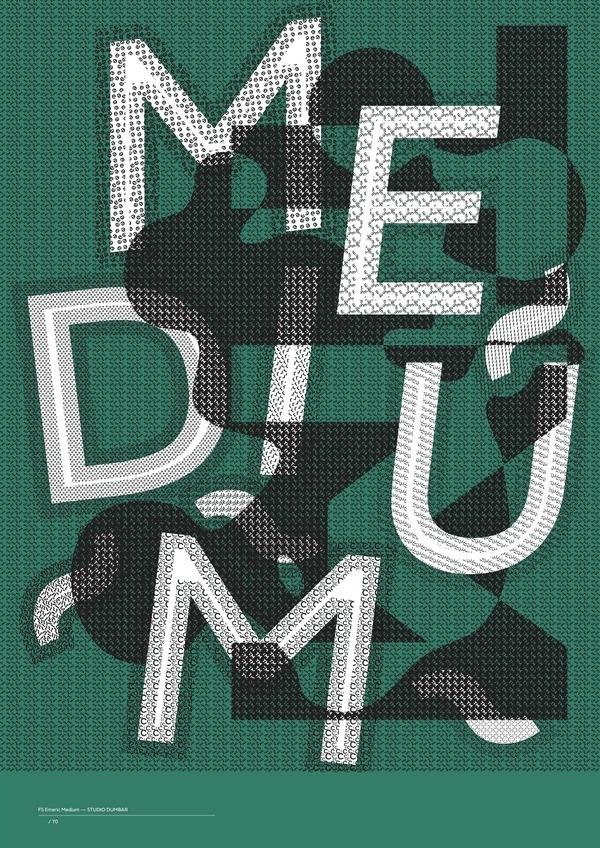 FS Emeric Medium #design #typography