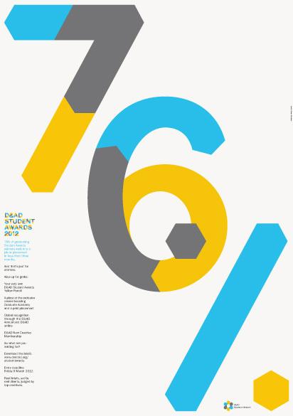 D&AD Education Network | Bibliothèque Design #number #poster