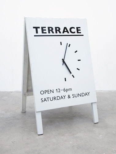 Terrace Gallery : Oscar & Ewan #signage