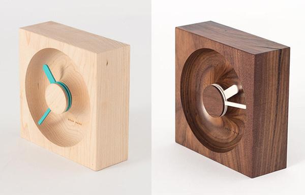 OClock: Wood & Cork Clocks by Okum Made #objects #design #wood #industrial #clocks