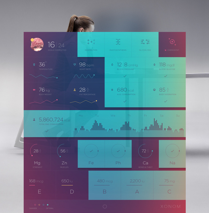 Xonom-pixels #ui #interface
