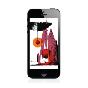 Image of iPhone Wallpaper by Invisible Creature #iphone #illustration #wallpaper