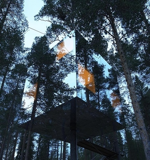 Treehotel, Sweden « These Old Colors #design #architecture #treehotel #nature