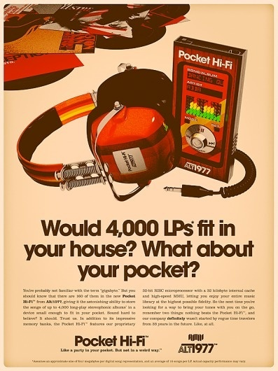 amv_alt1977_pocket_hi_fi_ad.png (PNG Image, 600x800 pixels) #machine #alt1977 #retro #alex #varanese #time #technology