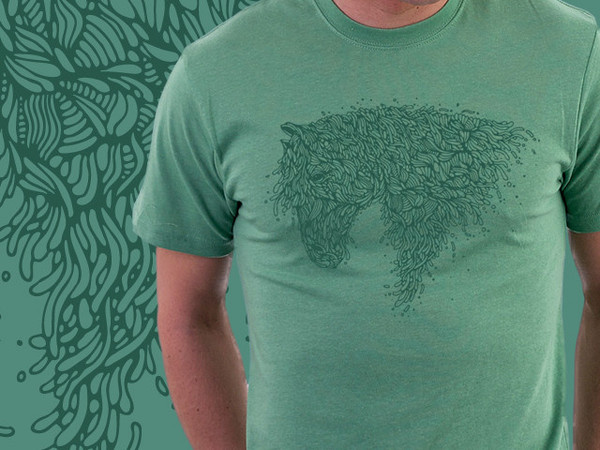 Horsey #horse #designbyhumans #illustration #animal #organic #shirts