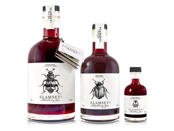 Slamseys #packaging #gin #liquor